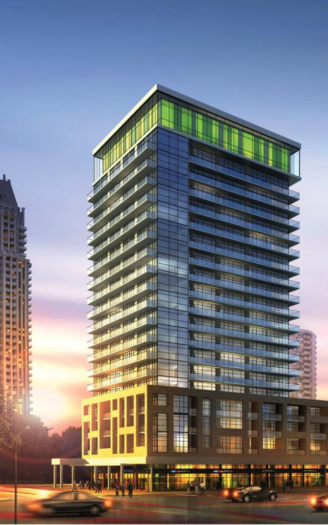 Limelight Condominiums Mississauga by the Daniels Corporation