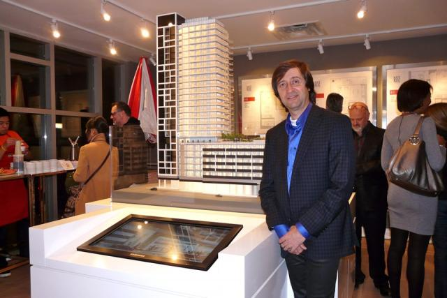 Architect Enzo Corazza of Rise condominiums, Toronto, by Reserve Properties