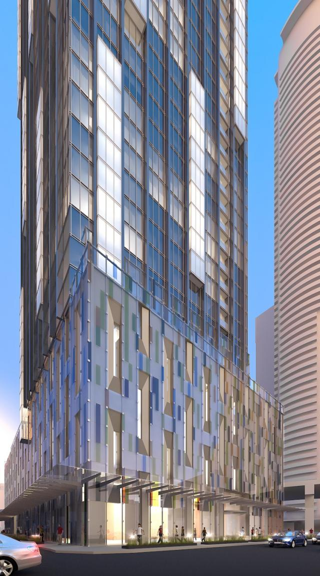 Ten York Street condos Toronto by Tridel with Wallman Architects