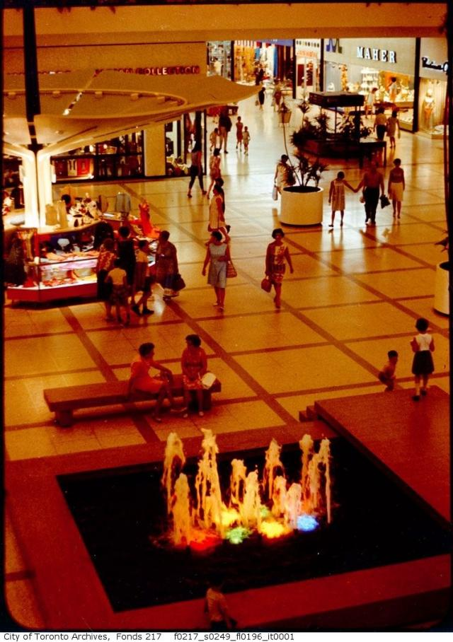 Yorkdale Shopping Centre in Toronto, 1965