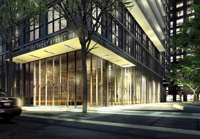 300 Front Street West in Toronto by Tridel and Wallman Architects