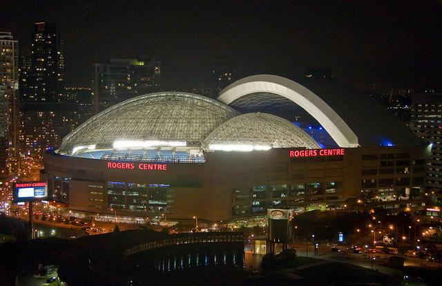 Photo Of The Day Time Lapse Of The Rogers Centre Roof In