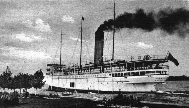 The SS Keewatin in Port McNicoll