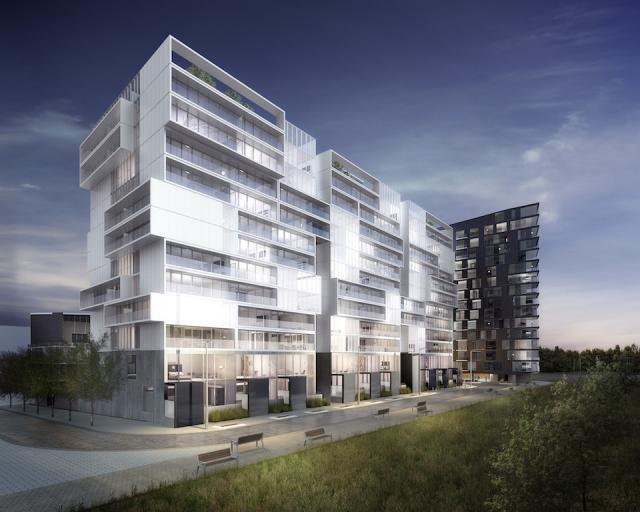 River City condos Toronto by Urban Capital and Saucier + Perrotte Architects
