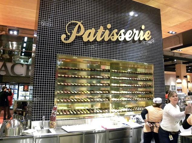 Patisserie section inside Loblaws at Maple Leaf Gardens in downtown Toronto