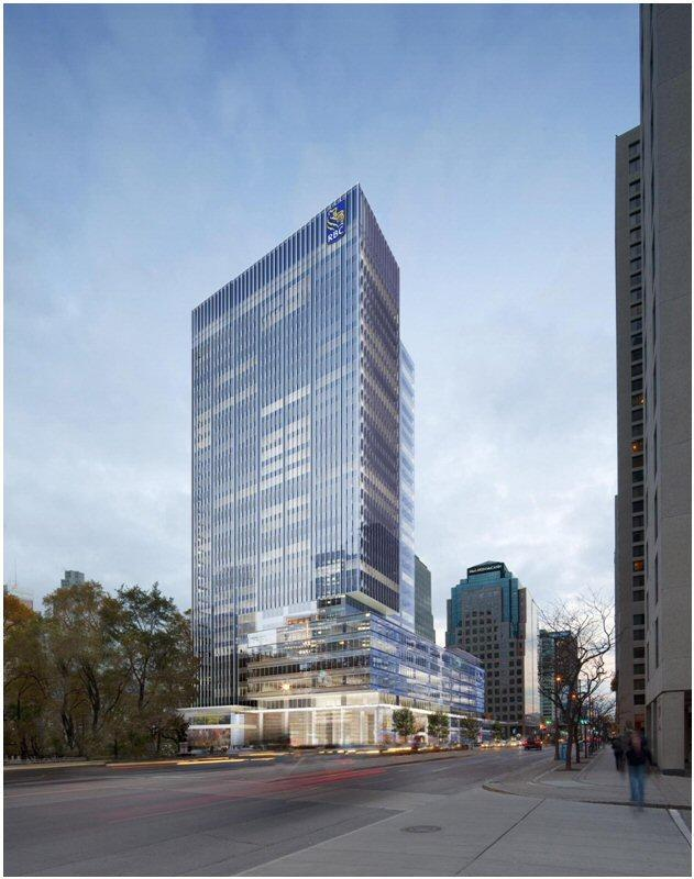 RBC Waterpark Place III in Toronto by Oxford Properties and WZMH Architects