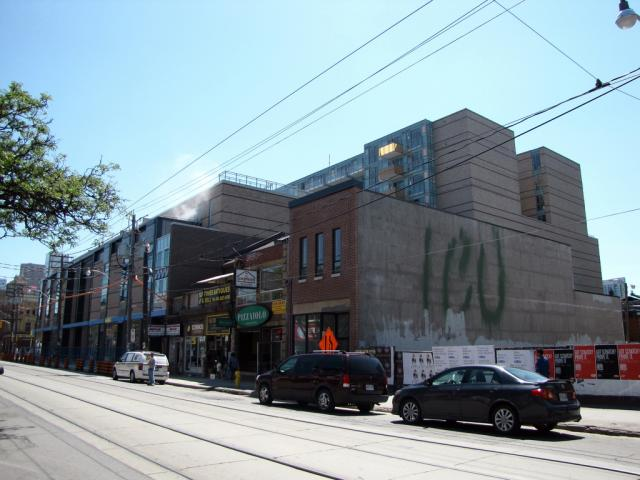 Queen & Portland Lofts Loblaws in Toronto by Tribute Communities and RioCan
