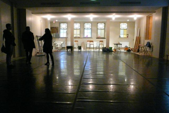 The Citadel's Studio Theatre space when UrbanToronto toured during construction