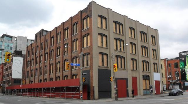 134 Peter Street being prepared for office redevelopment, Toronto