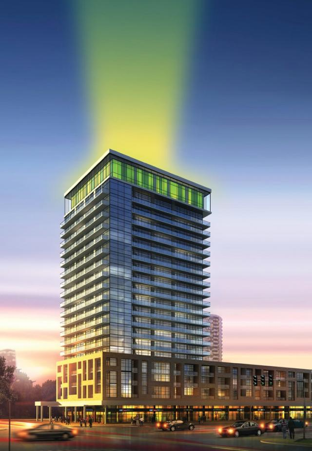 Limelight Condos, by Daniels with Kirkor Architects, Mississauga