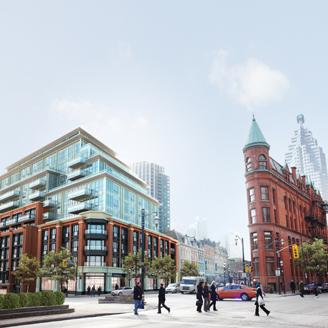 The Berczy in Toronto by Concert Properties and IBI Group