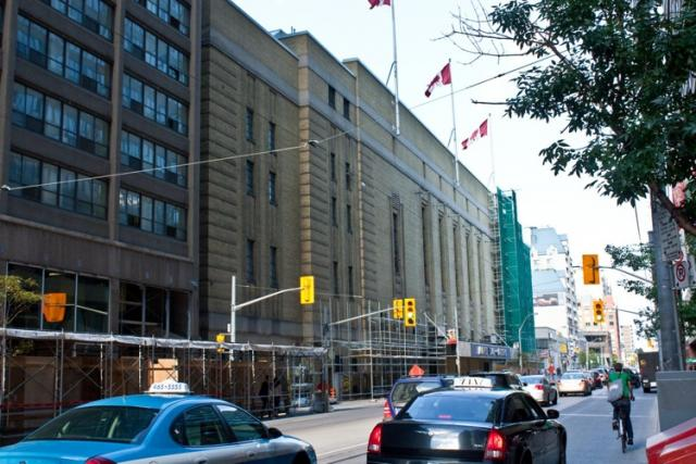 Maple Leaf Gardens Loblaws and Ryerson in Toronto,