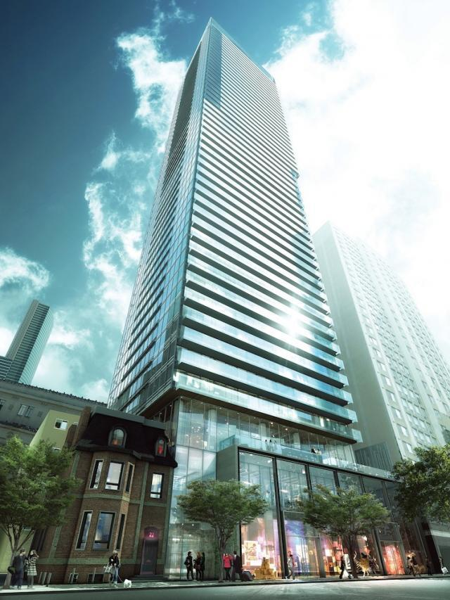 Karma Condos in Toronto by Lifetime and CentreCourt, with architectsAlliance
