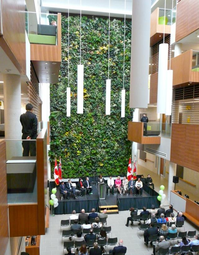 Centennial College Library and Academic Facility Atrium, Scarborough