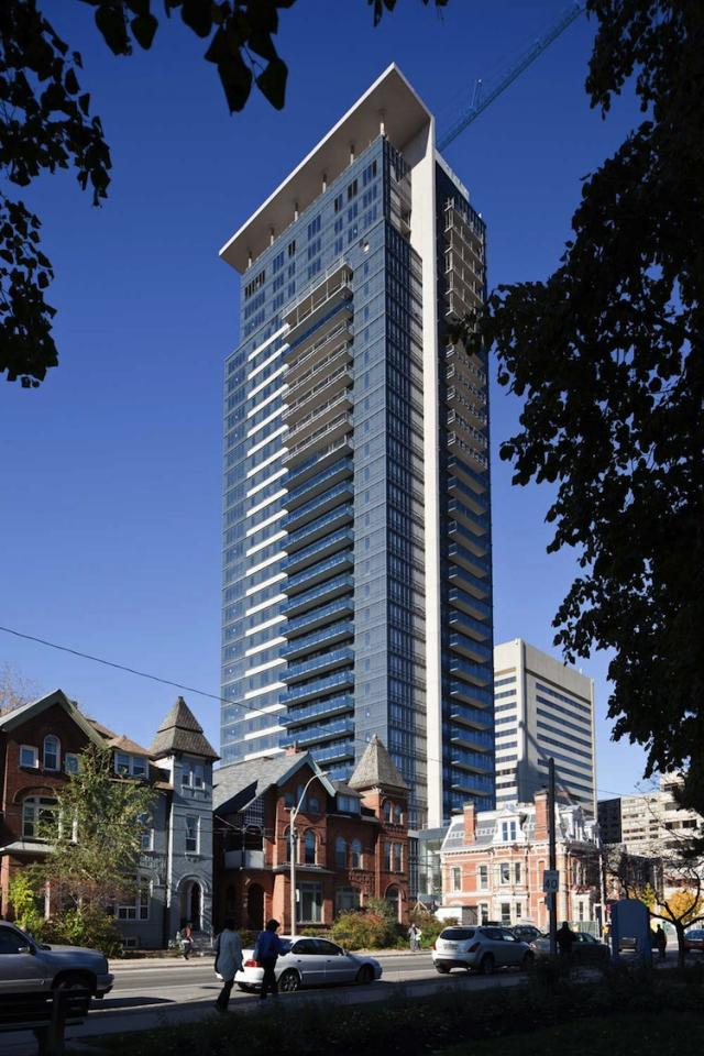 James Cooper Mansion by Tridel with Burka and Goldsmith Borgal Architects
