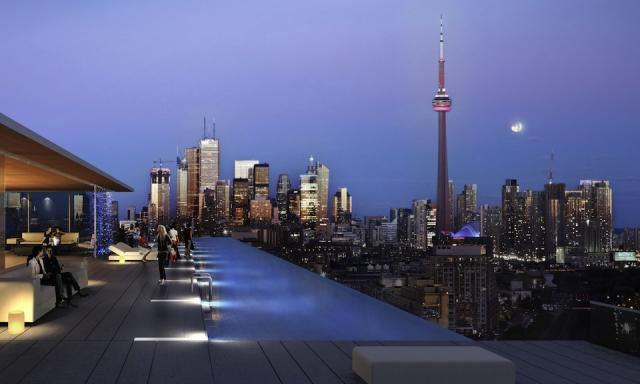 Kingsclub Condominiums, Toronto, by Urbancorp, design by Tact Architecture