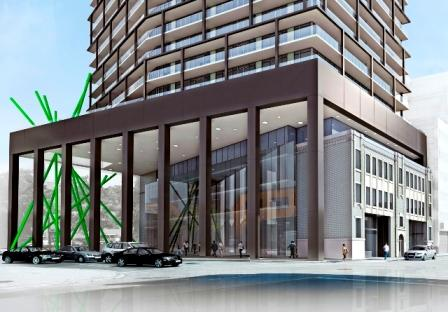 Tableau Condos in Toronto by Wallman Architects, Urban Capital, Malibu and Alit