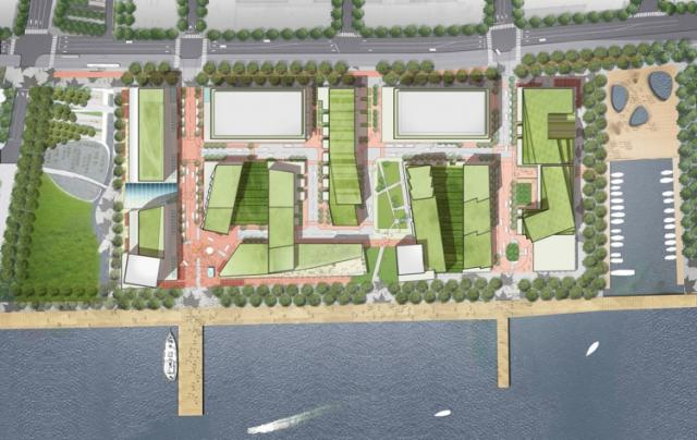 Plan for Toronto's East Bayfront