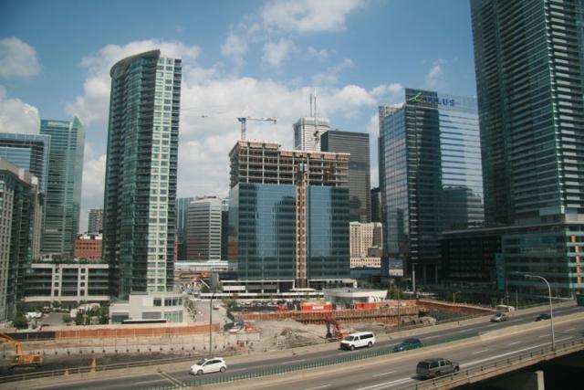 The same view of Maple Leaf Square today