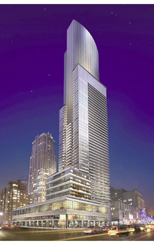 Aura Condos by Canderel Stoneridge and Graziani+Corazza Architects.