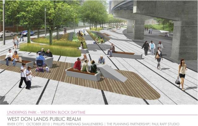 Underpass Park in Toronto by Urban Capital, Phillips Farevaag Smallenberg, Raff