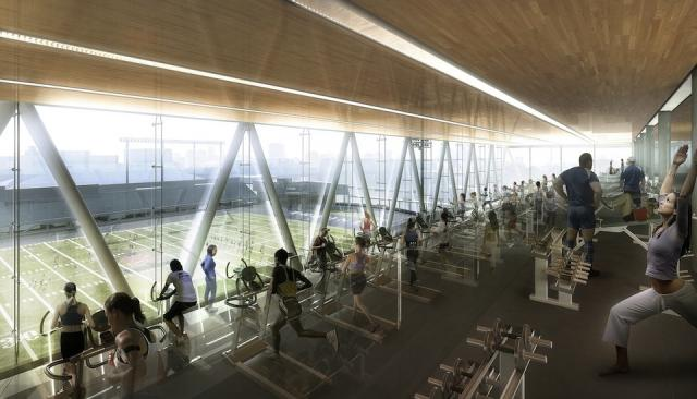 Goldring Centre for High Performance Sport, by Patkau and MJMA, Toronto