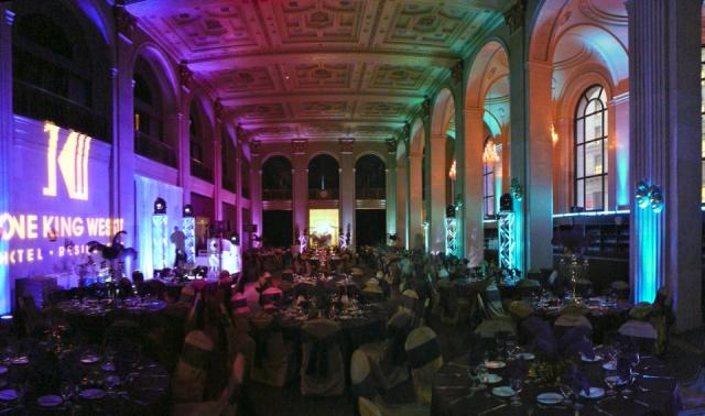 The banking hall now hosts parties at One King West Hotel and Residences Toronto