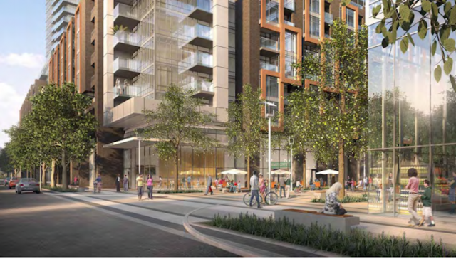 Newtonbrook Plaza Redevelopment in Toronto by Silvecore and Wallman architects