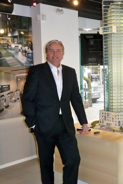 Edenshaw Homes' David McComb in Chaz Yorkville Condo, Toronto