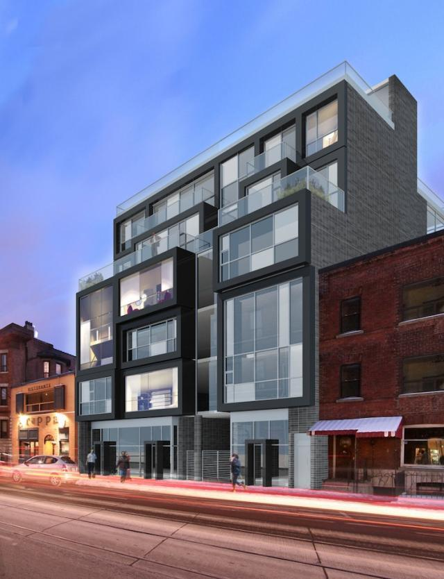 Cube Lofts in Toronto by Neilas and Raw Design with Quadrangle Architects