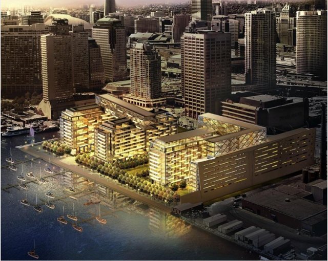 Waterlink at Pier27 in Toronto by Fernbrook/Cityzen, architectsAlliance