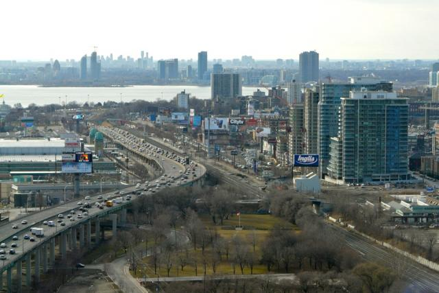 Toronto condo projects across Humber Bay and beyond to Mississauga