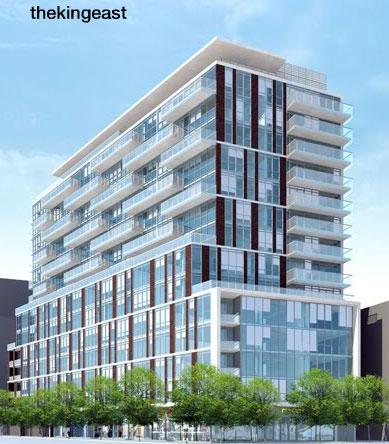 The King East is by Lamb Developments, Hyde Park Homes, Sher Corp and Core Arch.