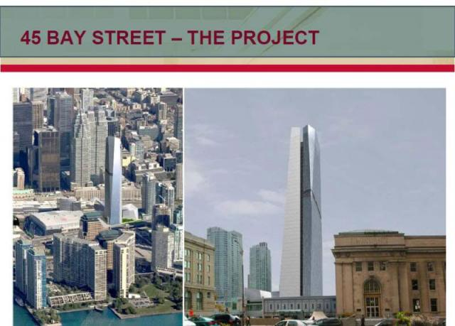 45 Bay Street is being developed by SITQ.