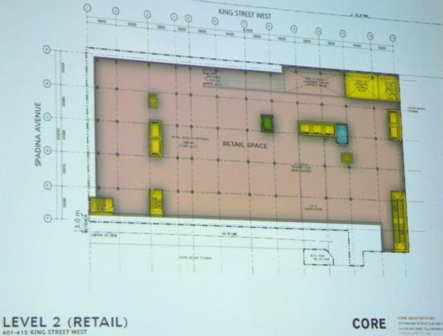 Second proposal 401-415 King Street West second floor