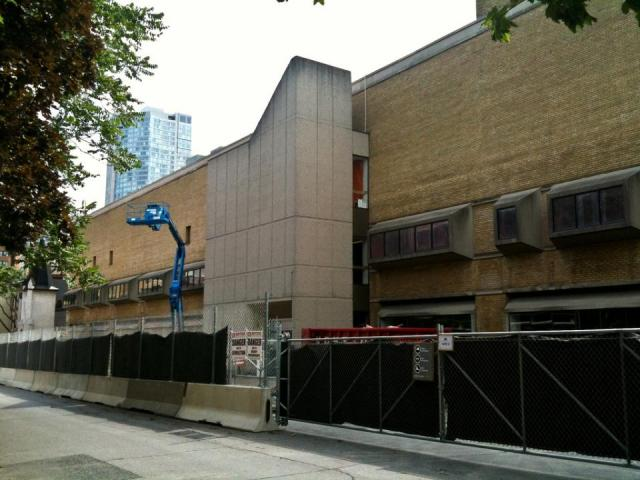 School of Image Arts Ryerson original O'Keefe building facade Toronto