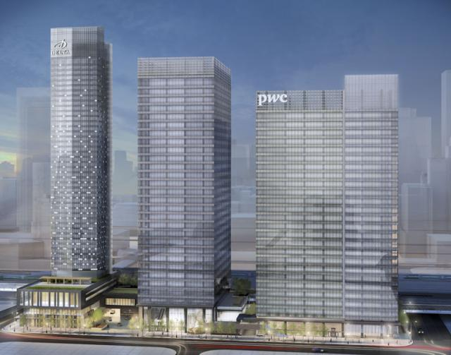 Southcore Financial Centre by bcIMC & GWL, 30 & 47s, KPMB & Page + Steele/IBI