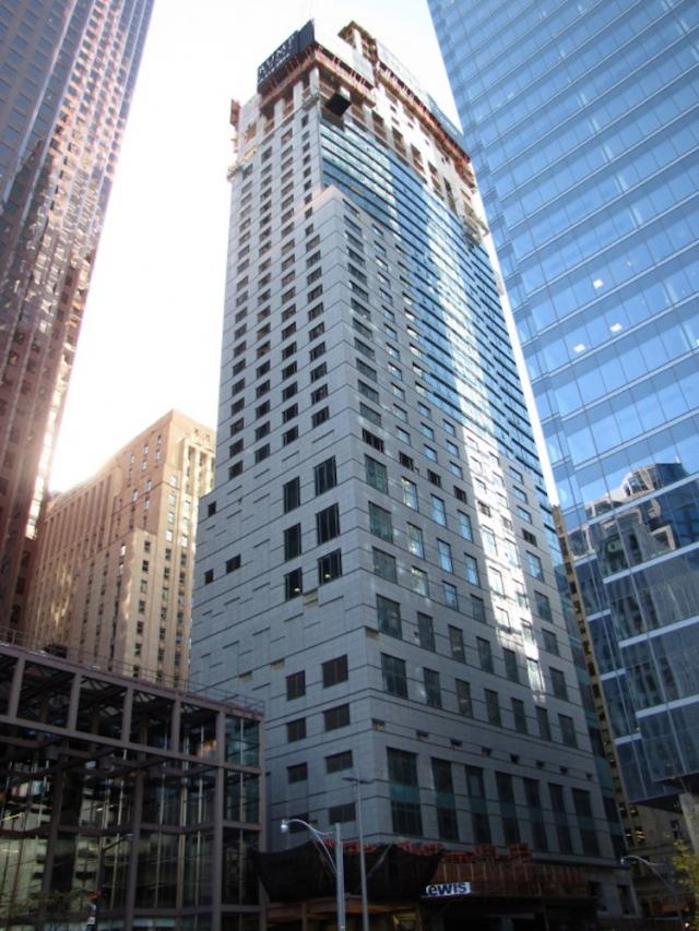 Trump Tower by Talon International and Zeidler Partnership Architects.