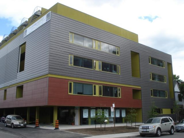 Roncesvalles Lofts by Triumph and David Peterson Architects.