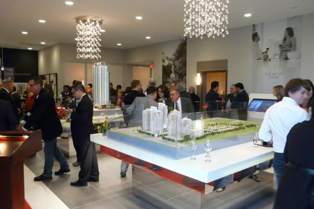 Pinnacle Uptown Crystal Condos presentation centre, Mississauga
