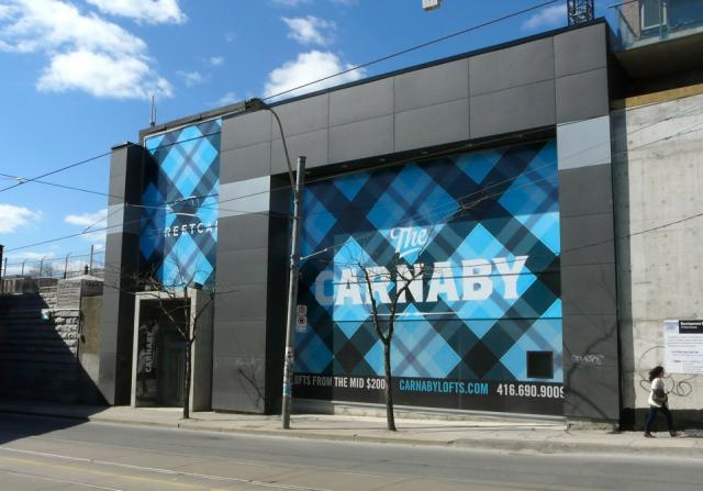 The Carnaby condos Toronto by Tact Design for Streetcar Developments