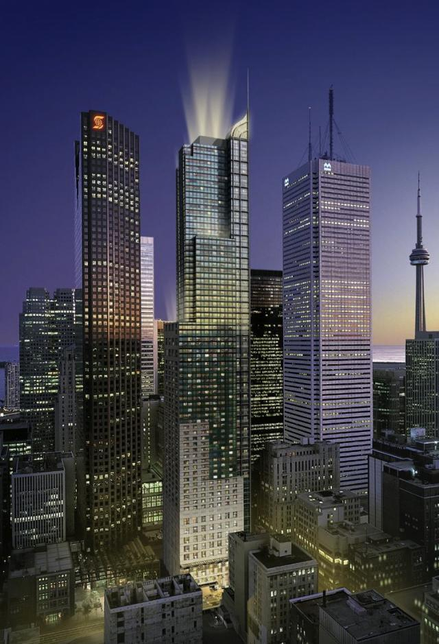 Trump International Hotel and Tower in Toronto by Talon and Zeidler Architects