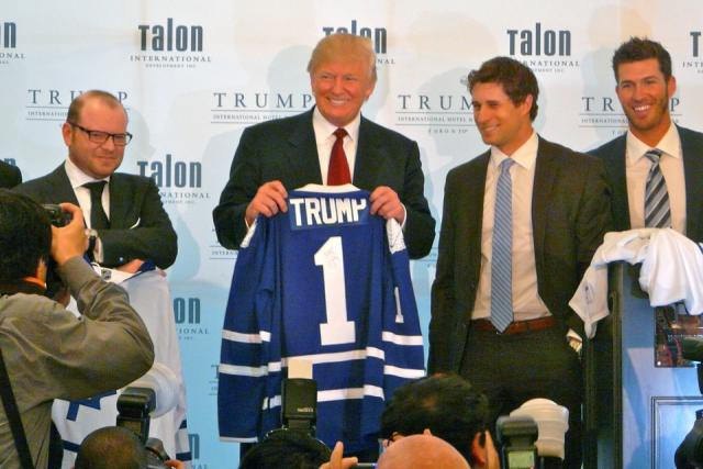 Ribbon cutting ceremony for the Trump International Hotel and Tower Toronto