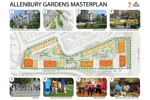 Toronto Community Housing Corporation's Masterplan for Allenbury Gardens