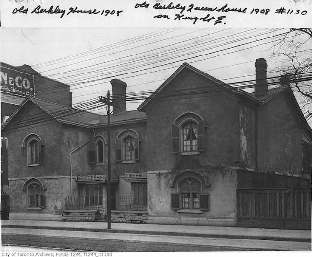 Berkeley House, Toronto, 1908