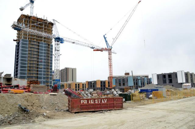 View of One Valhalla project by Edilcan Corp, Toronto