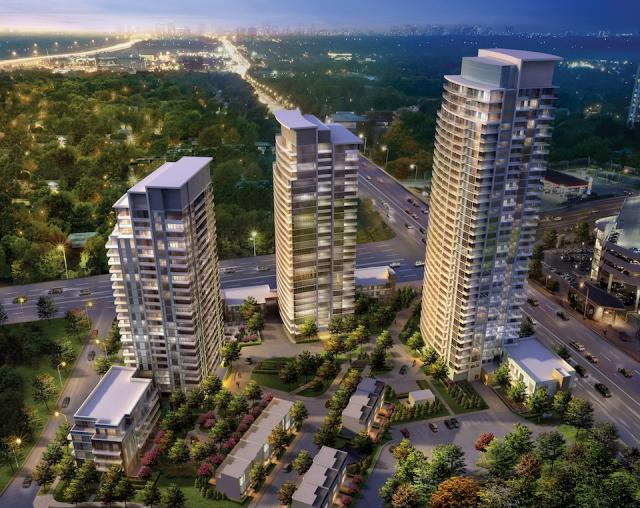 Emerald City in Toronto by ELAD Canada with WZMH Architects.