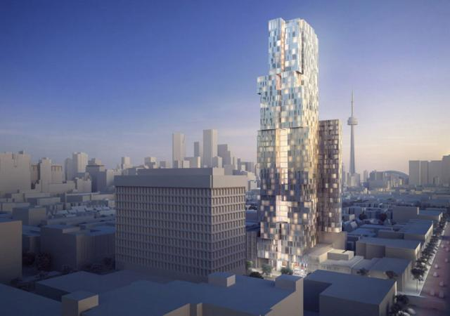 245 - 253 College Street in Toronto by Knightstone and Diamond Schmitt