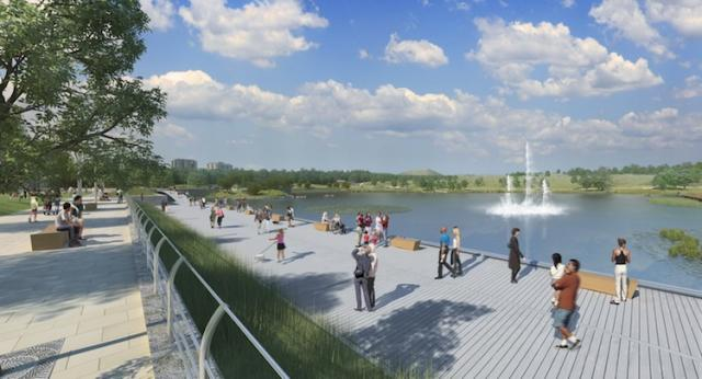 Downsview Park in Toronto, by parc downsview parc.