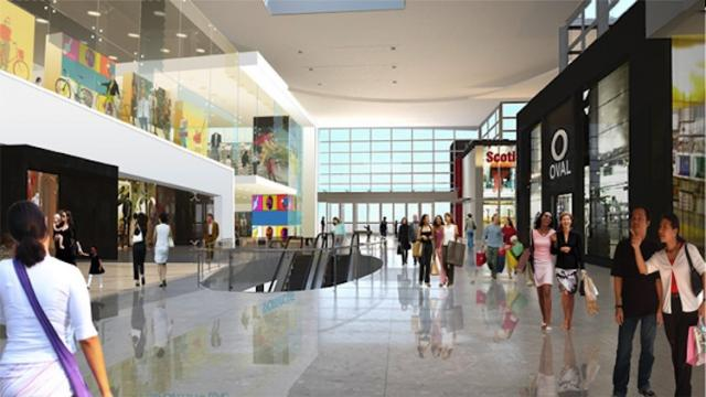 Yorkdale mall in Toronto by Oxford Properties and MMC Architecture.